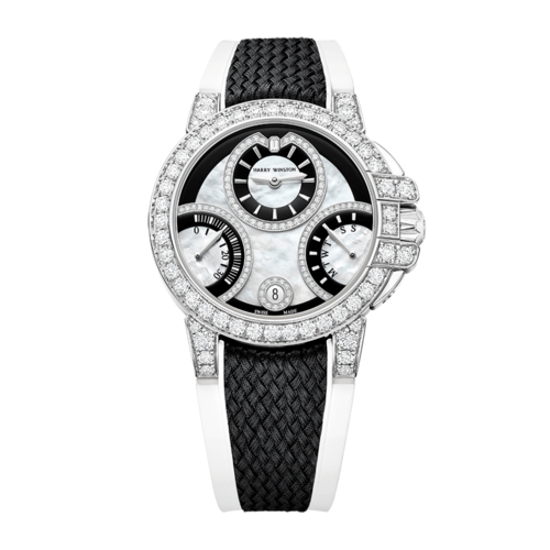 HW Ocean Biretrograde Black & White Automatic 36mm OCEABI36WW059