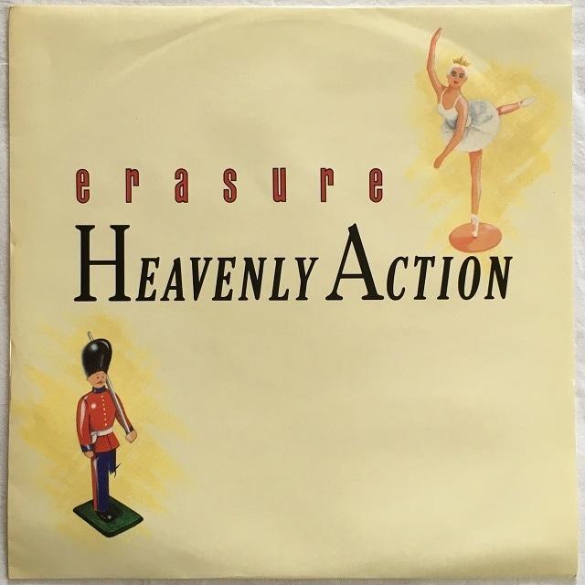 【12inch・英盤】Erasure / Heavenly Action