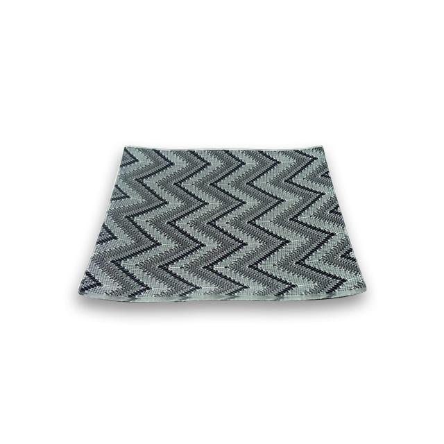 ガラストレー #92012 ブラック(15cm 角皿)