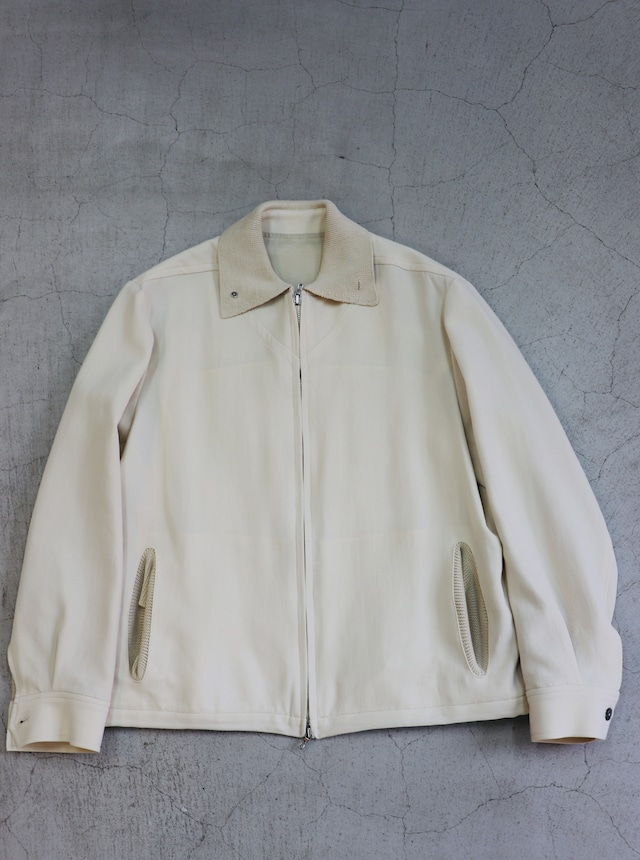 kemit 【ケミット】 COTTON W/CLOTH NATURAL STRETCH FABRIC BLOUSON