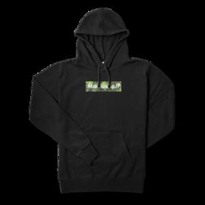 マリファナJPオリジナルロゴデザイン【パーカー】(Box logo Leaf4色)