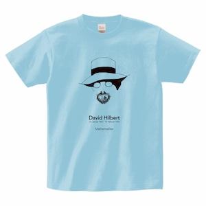 ダフィッド・ヒルベルトTシャツ_ライトブルー/David HIlbert T-shirt (Light Blue)
