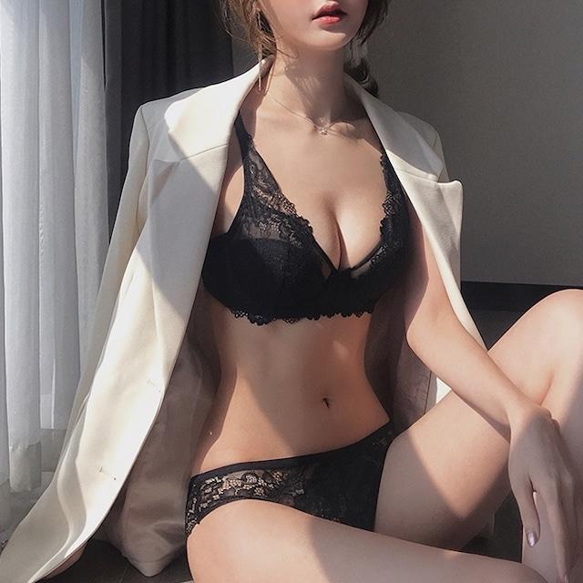 fit lace brassiere set ZBL902
