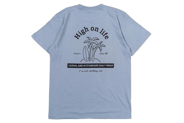 新色【high on life T-shirt】/ acid blue