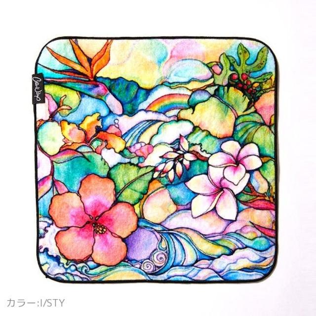 《Colleen Wilcox》アートハンドタオル  Island style
