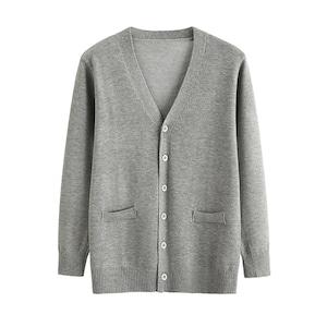 スクールカーディガン 女子 メンズ 男の子 レディース グレー コスチューム jk制服 女子高生服 大きいサイズ 1650