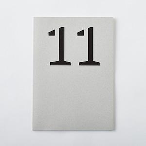 DAILY NOTE/MONOTONE 「11」