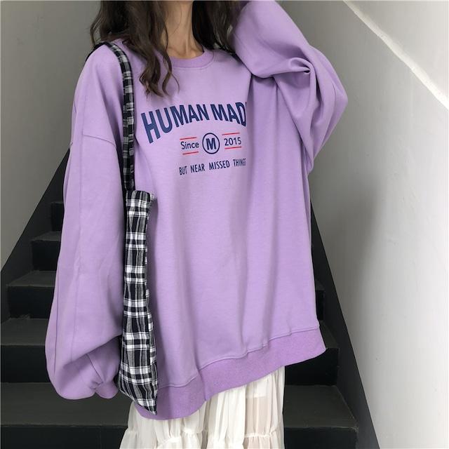 《ランキング20位》HUMAN MADE薄手スウェット(全4色) / HWG112