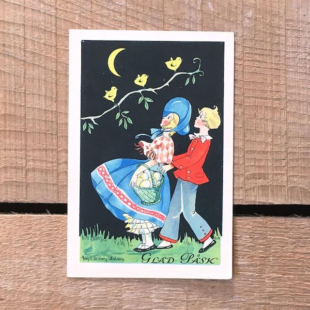 ミニ・クリスマスカード「Margit Ekstam(マルギット・エークスタム)」《200324-11》