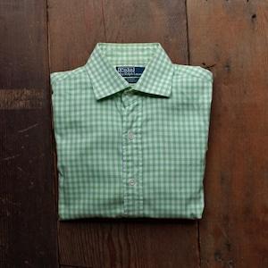 Polo Ralph Lauren Cotton Shirt / ラルフローレン  ギンガムチェック ワイドカラー シャツ