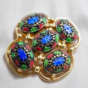 SARA COVENTRY Brooch Light Of The East