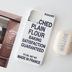 【t.e.a】FLOUR  Case / iphone スマホ ケース カバー フランス フラワー ハード 韓国雑貨