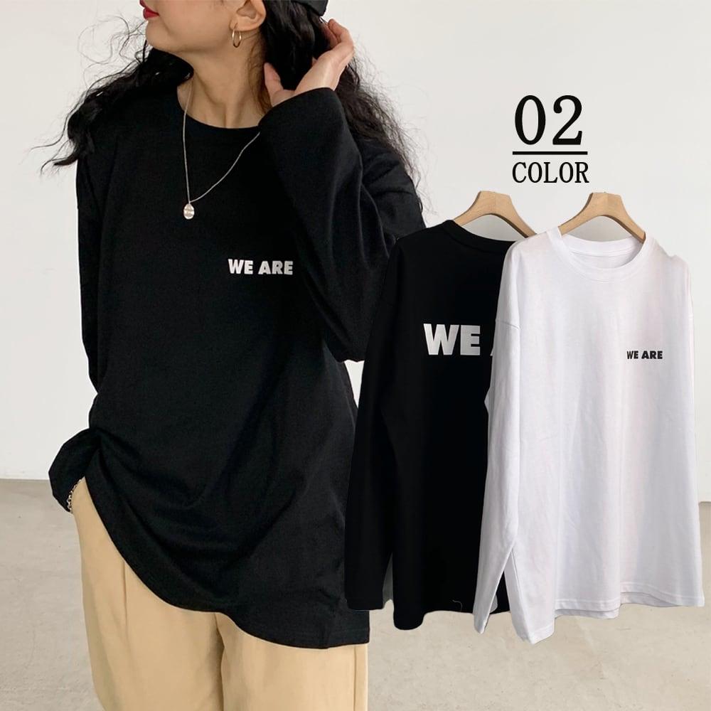 【即納】Tシャツ レディーストップス 長袖カットソー|fa1795