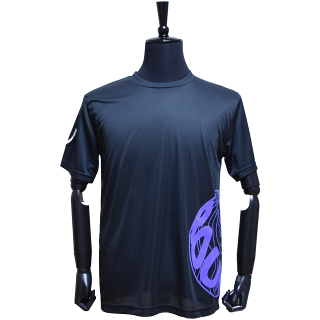 ロゴプリントTシャツ【パープル】