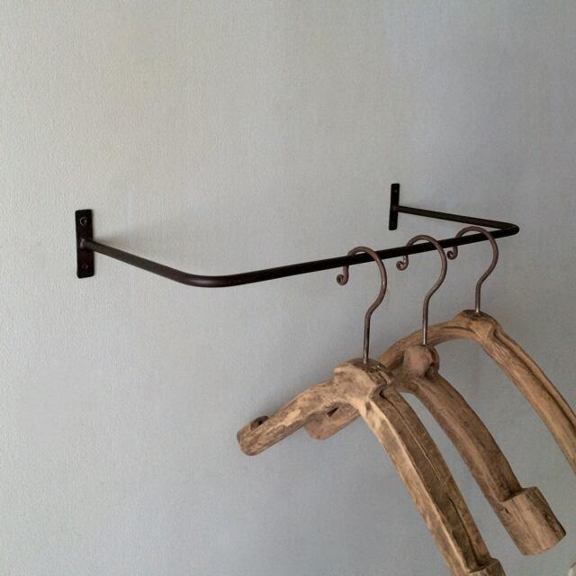ウォールハンガー|Iron Wall Hanging Bar