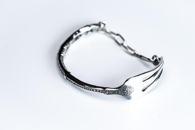 BN-039  Antique fork bracelet