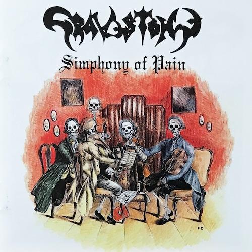 "GRAVESTONE (Ita) ""Simphony of Pain + bonus track Official CD"""