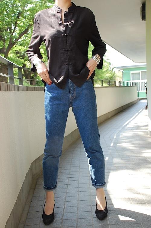chinese black jacket