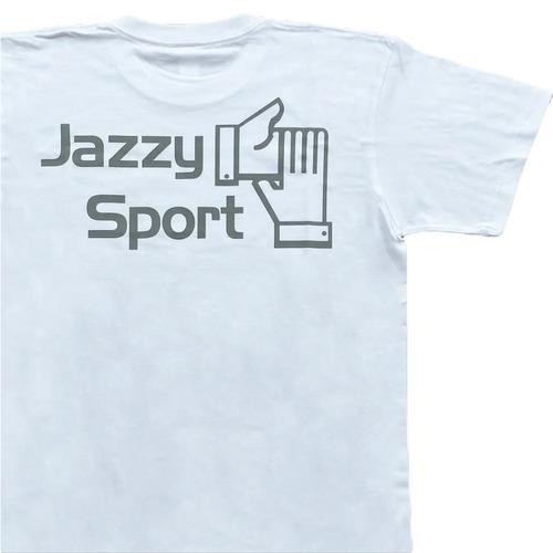 【京都店限定】JS ロゴ Tシャツ/ホワイト × アイミルチャ