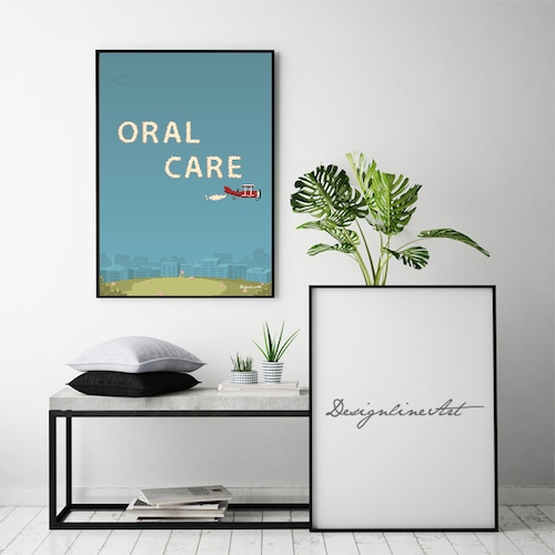 ORAL CARE B2ポスター(フレーム入り)
