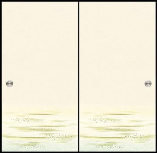 日新818(1枚柄) 織物ふすま紙 203cm×100cm 1枚