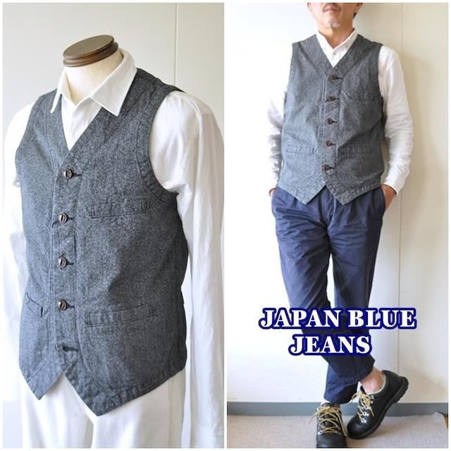 ジャパンブルージーンズ  JAPAN BLUE JEANS  アーバンベスト 杢ベスト メンズベスト J42470