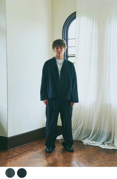 【Boka nii Loo】ビッグスラックスパンツ