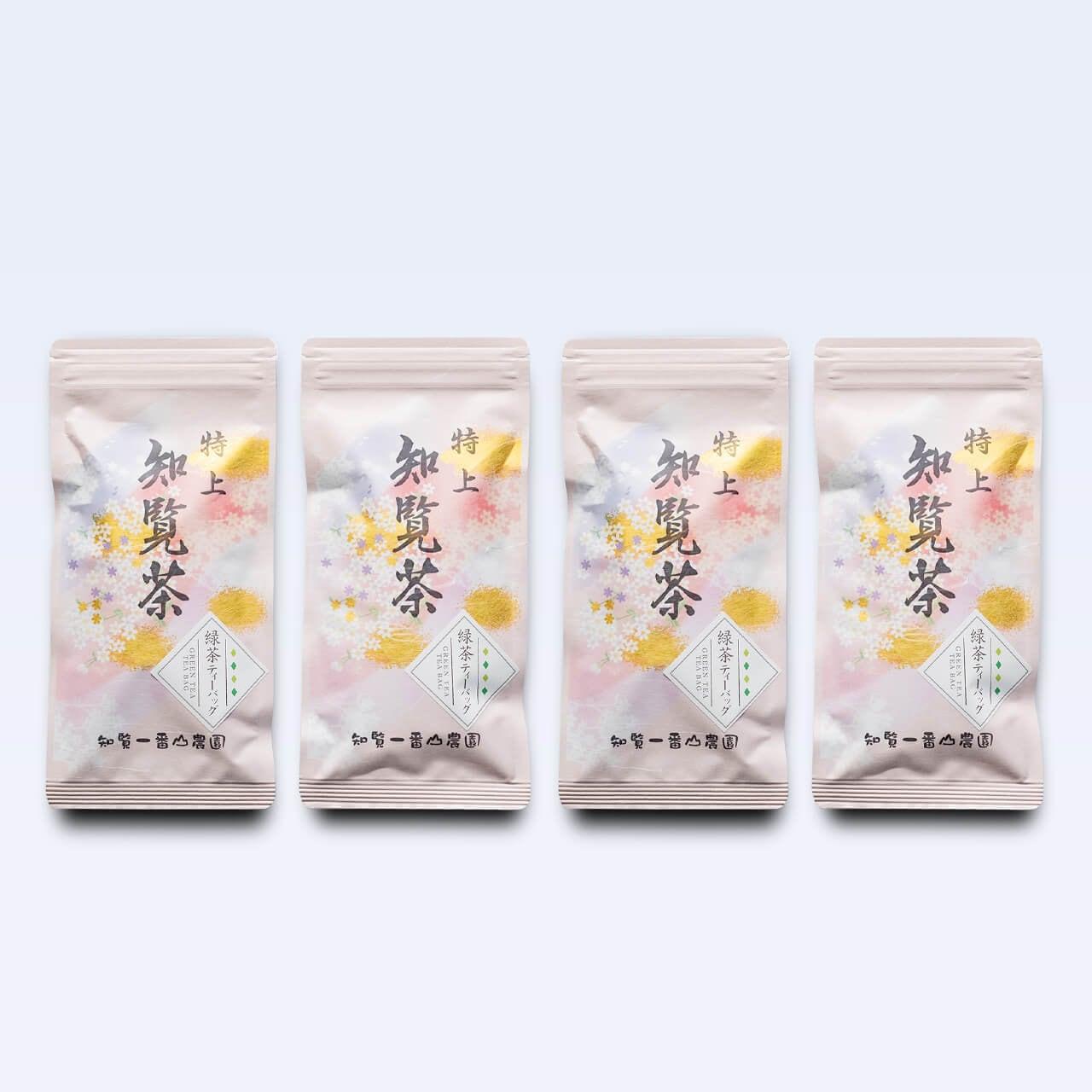 特上知覧茶ティーバッグ【チャック付袋入り・50g(5g×10個)×4本】