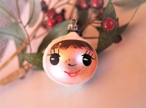 ガラスクーゲル 笑顔のガラス玉 ドイツのクリスマス