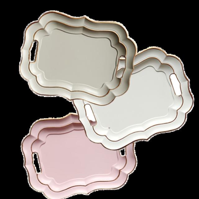 Scallop tray / スカラップ トレイ 大