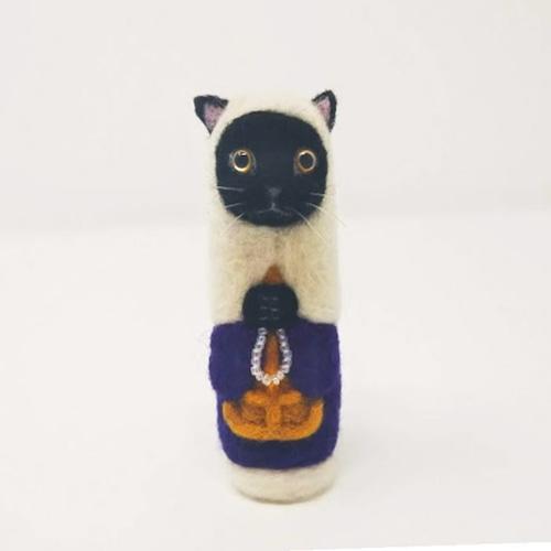 【予約】魔よけの黒尼猫