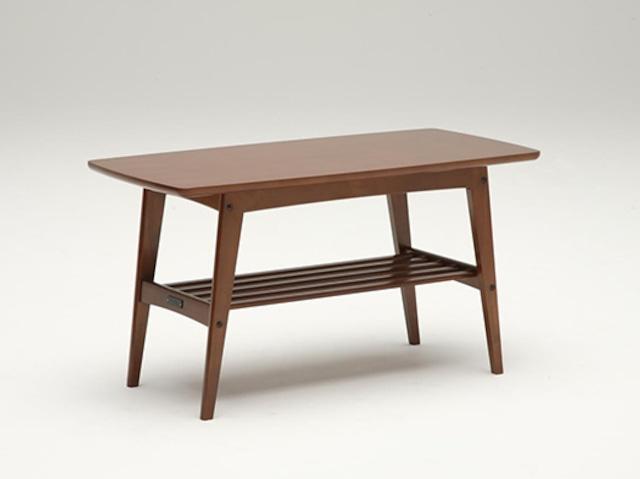 【カリモク60】リビングテーブル小 ウォールナット ムテニエ突板
