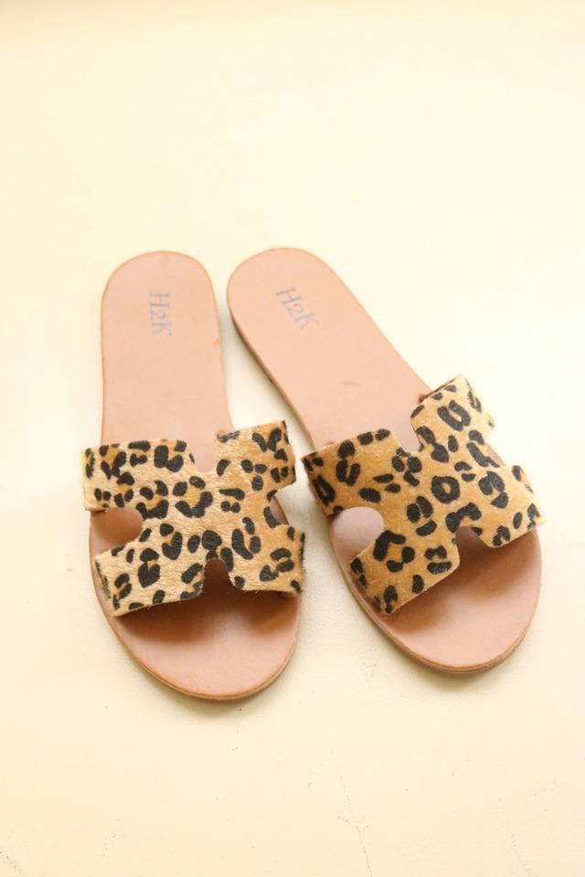 leopard sandal / 6SSGD14-18