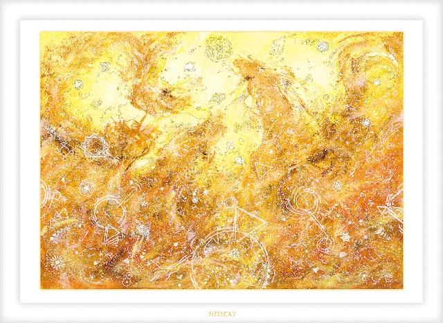 龍神の絵 オーダーメイド絵画 A3サイズ(420×297mm)送料無料