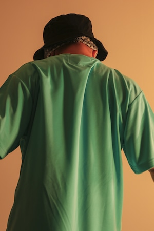 DRY TEE W Patch [EMERALD]
