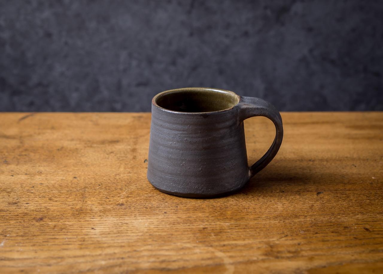 鉄錆マグカップ(コーヒーカップ)/吉永哲子