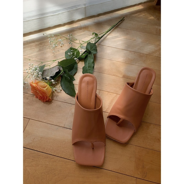 【asyu】tong heel sandal