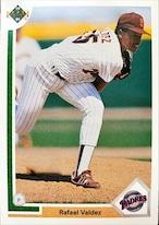 MLBカード 91UPPERDECK Rafael Valdez #253 PADRES