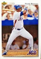 MLBカード 92UPPERDECK Hubie Brooks #114 METS