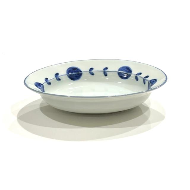 【SALE】花つなぎ 楕円鉢《デッドストック》