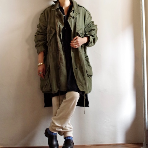 """1980s Canadian Army """"GS MK II"""" Combat Coat with Liner / カナダ軍 ライナー付き フィールド ジャケット"""