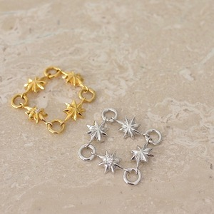 Jewelry Line【Spica】スピカ チェーンリング  S size(SJ0004)