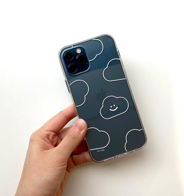 [skyfolio] ラインくも クリア iPhoneケース