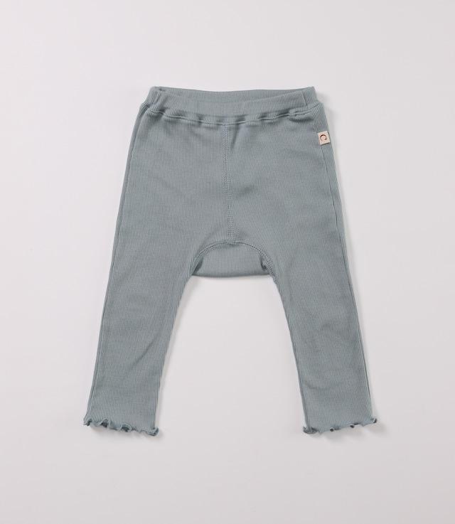 【ベビー服】綿シルクテレコスパッツ / トワイライトブルー /  80~100サイズ