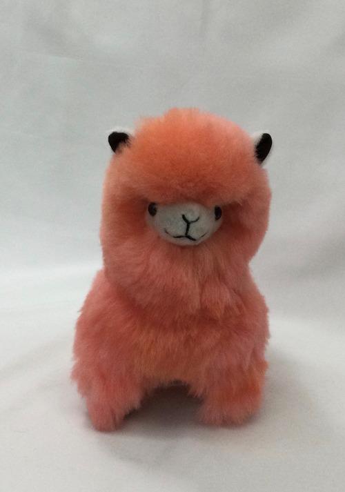 アルパカ純毛人形 デカパカ ピンク