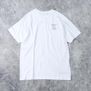 "【SANSE SANSE】S/S T-Shirt ""SUMITAIMACHI"" サンセサンセ 半袖 Tシャツ"