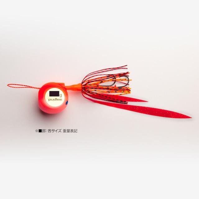 【釣りフェス限定販売】タイラバJET フラットサイド 120gレッドピンク