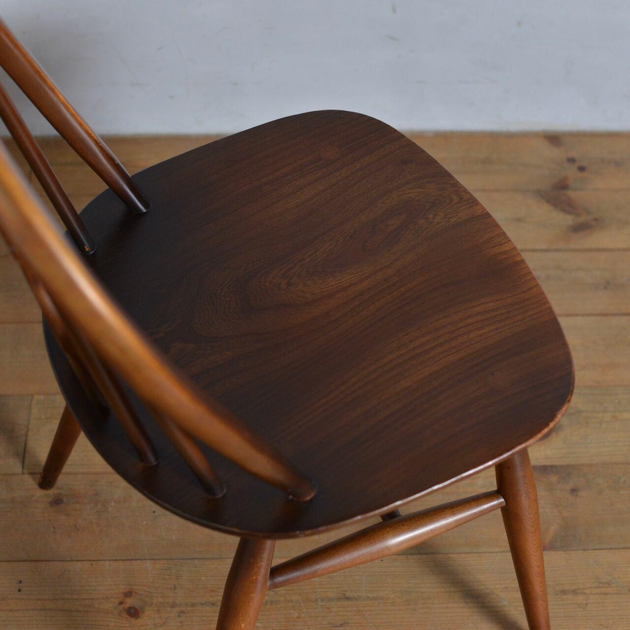 Ercol Thistleback Chair 【B】 / アーコール シスルバック チェア 〈ダイニングチェア・デスクチェア・椅子・コロニアル〉SB2101-0003 【B】