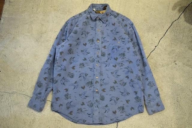 USED 80s Eddie Bauer Chamois cloth shirt -Medium 0905