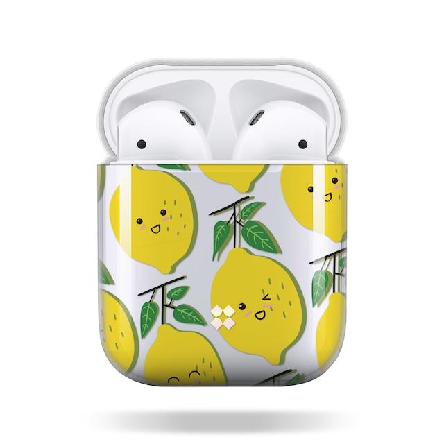 CaseStudi ケーススタディ PRISMART AirPods Case 2018 エアーポッズ ハード ケース 男女兼用 レモン Lemon 国内正規品